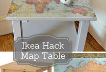 IKEA Hacks / Who doesn't love an IKEA hack! Even though I'll never get round to doing any of them, I still love to look at what others do.