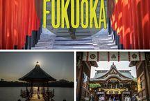 Kyushu / Travel tips, itineraries and inspiration on visiting the island of Kyushu in Japan. Including cities of Fukuoka, Beppu, Nagasaki, Miyazaki, Kumamoto and Kagoshima.