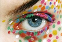 Makeup for carnival, halloween and parties