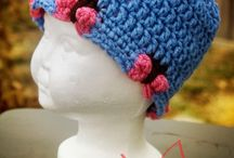 Crochet head gear