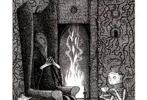 Books / Gothic Cildrens Book Illustrations