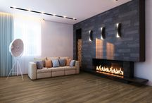 Fierce Fireplaces / Your fireplace should be a hot topic for guests in your home. Make it sizzle with these home décor ideas.