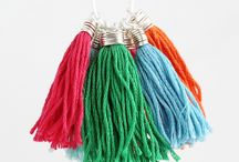 Fabric Crafts / Tassels, bags, clothing fixes and more. Fabric holds a lot of possibilities!