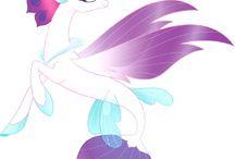 my little pony under watter