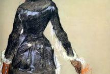 arte - Edgar Degas (1834-1917) / arte - pittore e scultore francese