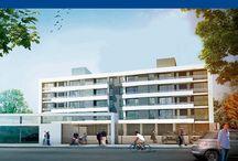 VISTALRÍO / Edificio compuesto por PB + 4 niveles con 24 departamentos de 1, 2 y 3 dormitorios en Viedma (Pcia de Río Negro). Excelente ubicación y vistas privilegiadas