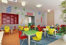 Project of Kindergarden interiér