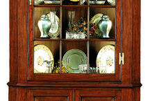 Chinas ,Curios, & Display Cases / From Chinas for the dining room - to - curios for your living room. Available in multiple finishes. Sizes can be customized.