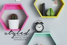 Styled / No time to DIY? See what you can do in 30 minutes or less! / by Homeology | Home Decor