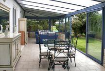 Veranda and patio