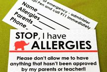 Organize for Food Allergies