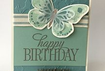 Cards: Watercolor Wings & Floral Wings / by Rita Day