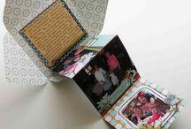scrap box or card