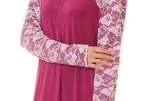 raglan sleeves dress