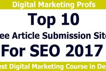 Top 10 Article Submission Sites 2017