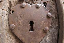 Keys, keyholes and doors