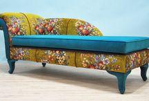 диваны и скамейки