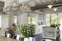 Kitchen inspiration / Inspiration from all around the net for kitchen.