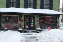 Cooperstown's Florist / Pictures of our flower shop, daily life