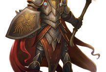 Human, Cleric of Pelor