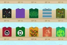 The Epic T-shirts of Sheldon Cooper! Da Da Da