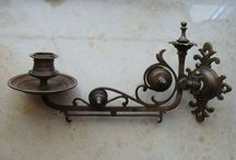 Antique, Candle Holders, Candle Sticks