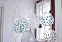 Der Luftballonvorhang