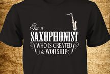 Saxophonist Created to Worship / Let this gear represent a saxophonist who puts a classic jazz of music in Worshipping God! Just like how Jesus loves you when He gave His life.  Wear it proudly and buy it today! Cool for a saxophonist who is a Praise Team member, Christian band or Christian musician! Click Here to Purchase => http://hqtee.com/P37-4 ** Tag Your Friends! **