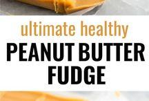 Fudge Healthy peanut butter