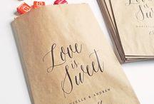 Wedding: Favors