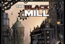 The Black Mill / Please check out the cover I drew and Derek Chase colored for The Black Mill written by the legendary Paul Di Filippo! Enjoy! :)