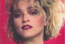 80's hair&makeup
