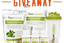 Raw Giveaways / Occasionally we offer giveaways either directly from us or through blogs that review our products.  Follow this board for the latest giveaway opportunity! / by Raw Green Organics