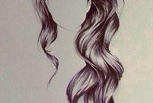 Disegno di capelli