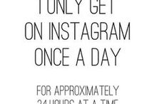 All About Instagram / We're #addicted.