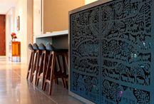 Interior Design / Interior design ideas screens laser cut