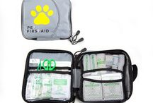 Dog Safety / Keep your pet or dog safe. Be prepared with first aid response and secure seat belt in the car