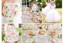 Moodboard Wedding / Herausfinden in welche Farbrichtung wir gehen wollen