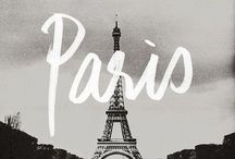 Bonjour Paris / Someday I want to go to Paris and visit some place interesting there.