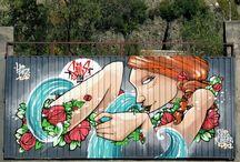 Graffiti Art / Mi trabajo en la calle como Muralista