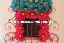 Custom Flower Wall Decor / Custom flower arrangement for wall hanging