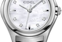 Ebel Watches / A passion for innovation and excellence in watch design has always been at the heart of the EBEL brand. EBEL was founded by husband and wife Eugene Blum and Alice Levy, in La Chaux-de-Fonds, Switzerland in 1911. And since its inception, EBEL has remained true to their core values, manufacturing fine Swiss watches that marry technical expertise and distinctive style.  http://www.jurawatches.co.uk/collections/ebel-watches