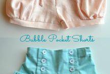 shorts de niñas
