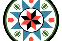 Art designs / Handmade ideas , hex symbols