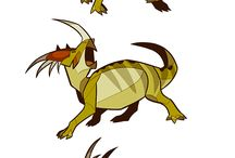 CrD - Dinosaurs - Creature Design / Prehistoric and extinct reptile inspiration