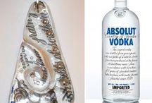 Glass bottles / by Sanne Jacobsen
