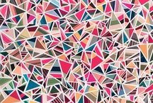 Geometric art / Ideas and inspiration for geometric drawnings.