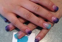 Nails by tori / Nails all done by me at ice nail bar in Nanaimo b.c
