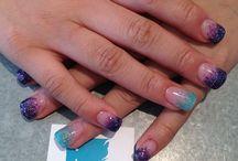 Nails by tori / Nails all done by me at ice nail bar in Nanaimo b.c