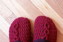 Crochet Slippers & Socks